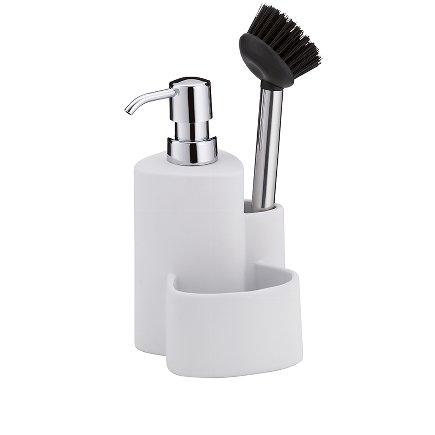 Dishwashing center white