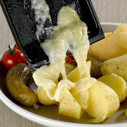 Mini-Raclette Cheese o'Clette