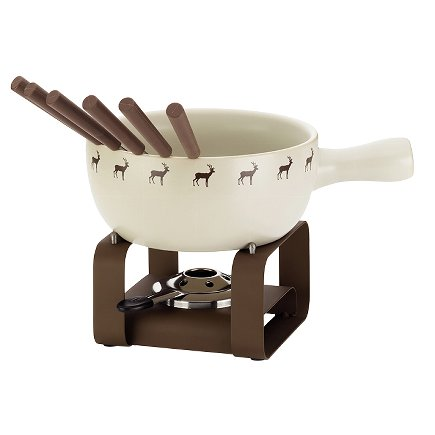 Cheese fondue-set 9 pieces