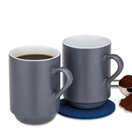 Cup Mattia black