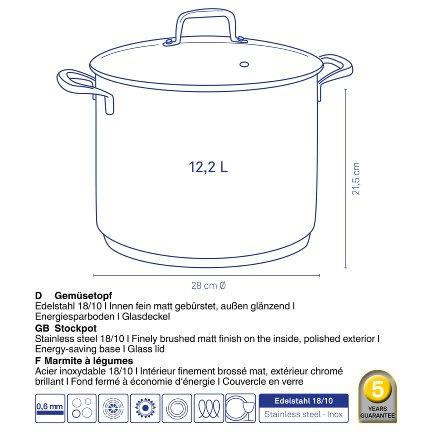 Stock pot Flavoria