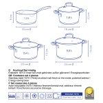 Cookware set of 4pcs Flavoria