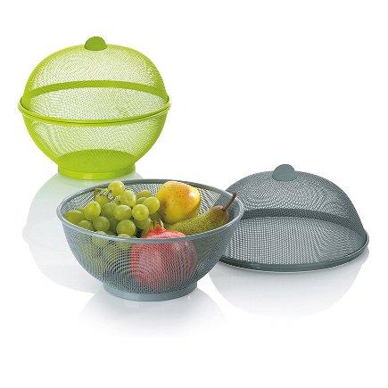 Corbeille à fruits gris